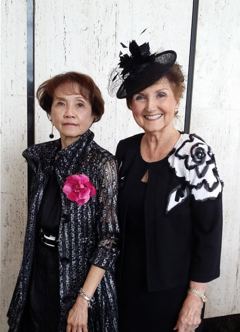 Jeanette and Rajada Fleming